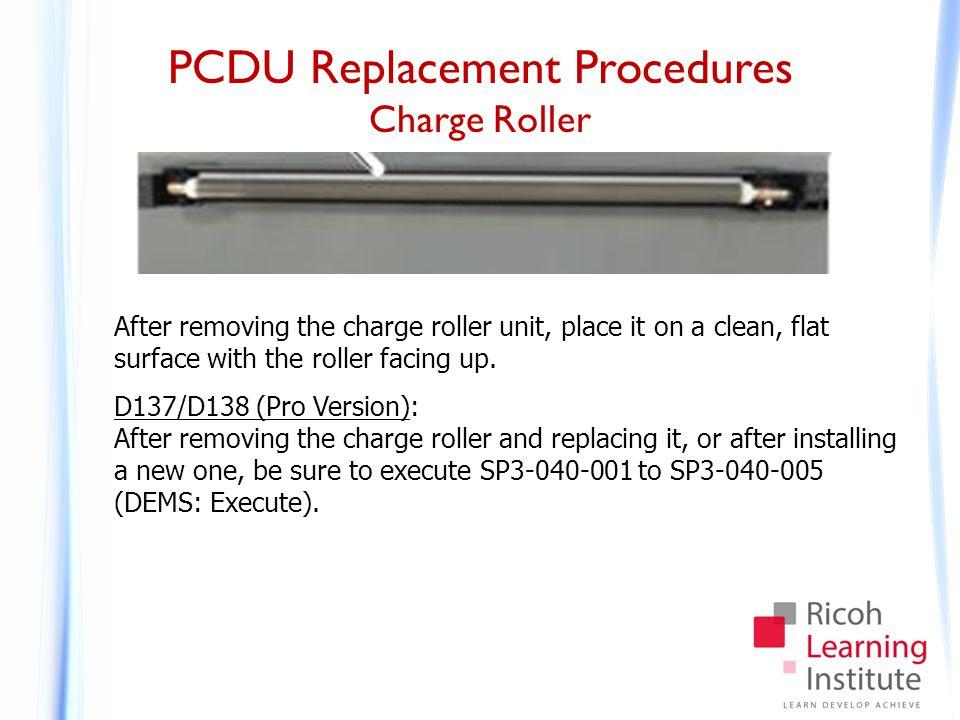 PCDU Replacement Procedures Removing a Drum