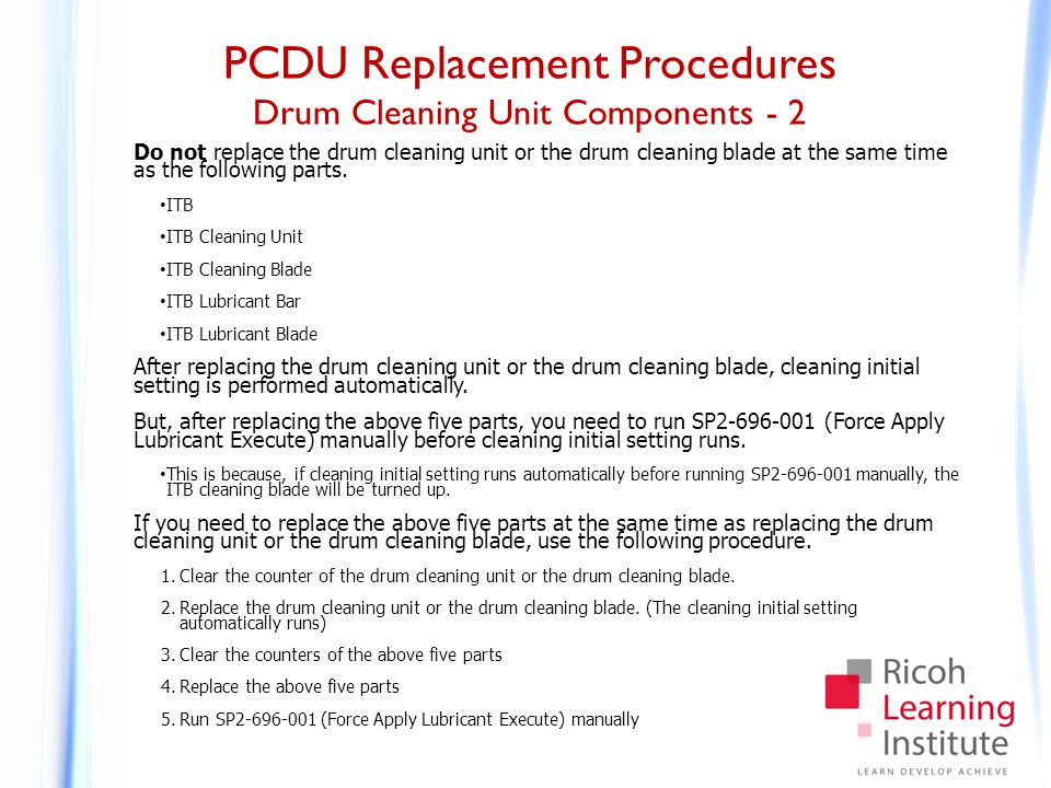 PCDU Replacement Procedures Lubricant Bar Replacement