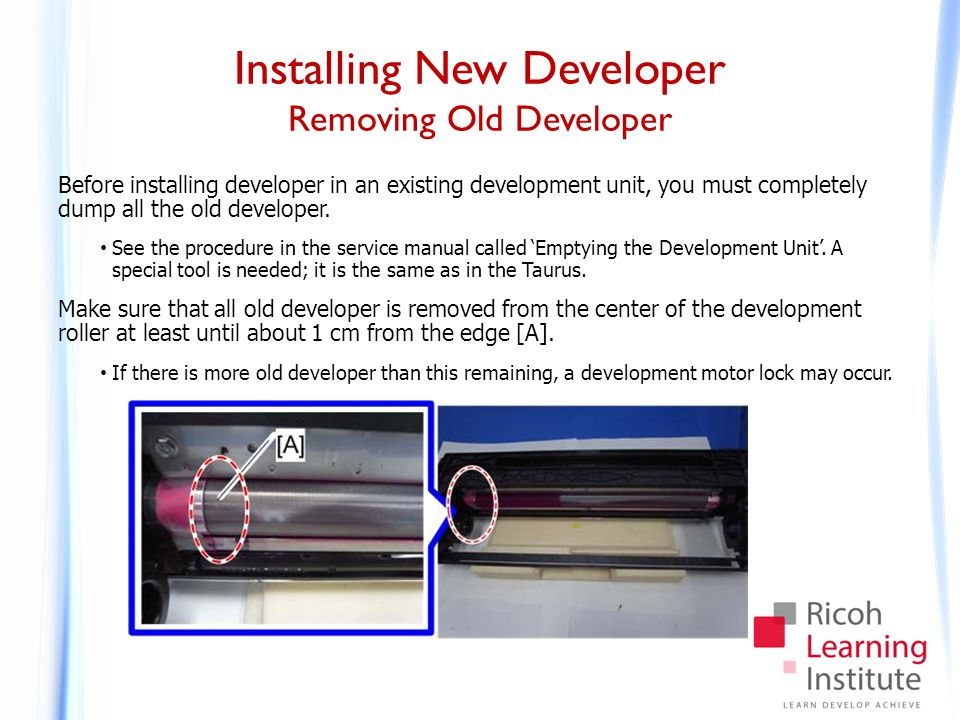Installing New Developer Procedure - 1