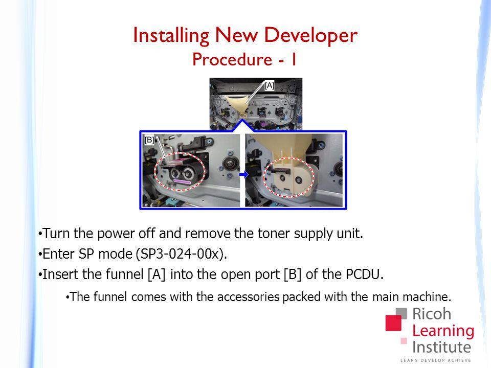 Installing New Developer Procedure - 2