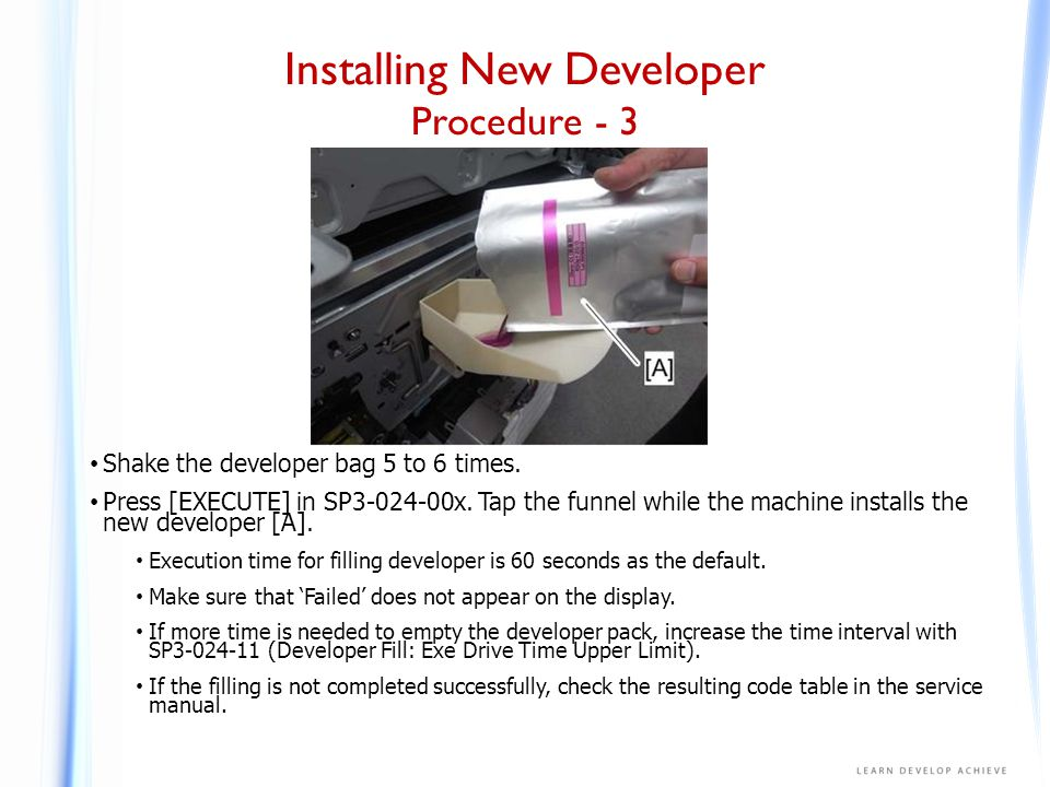 Installing New Developer Procedure - 4