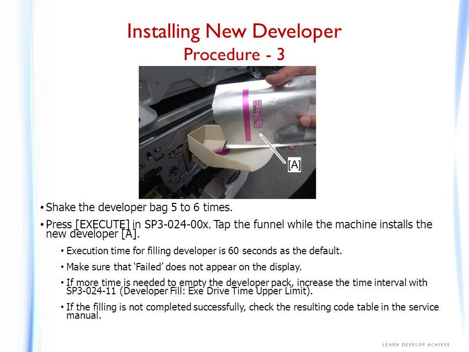 Installing New Developer Procedure - 4