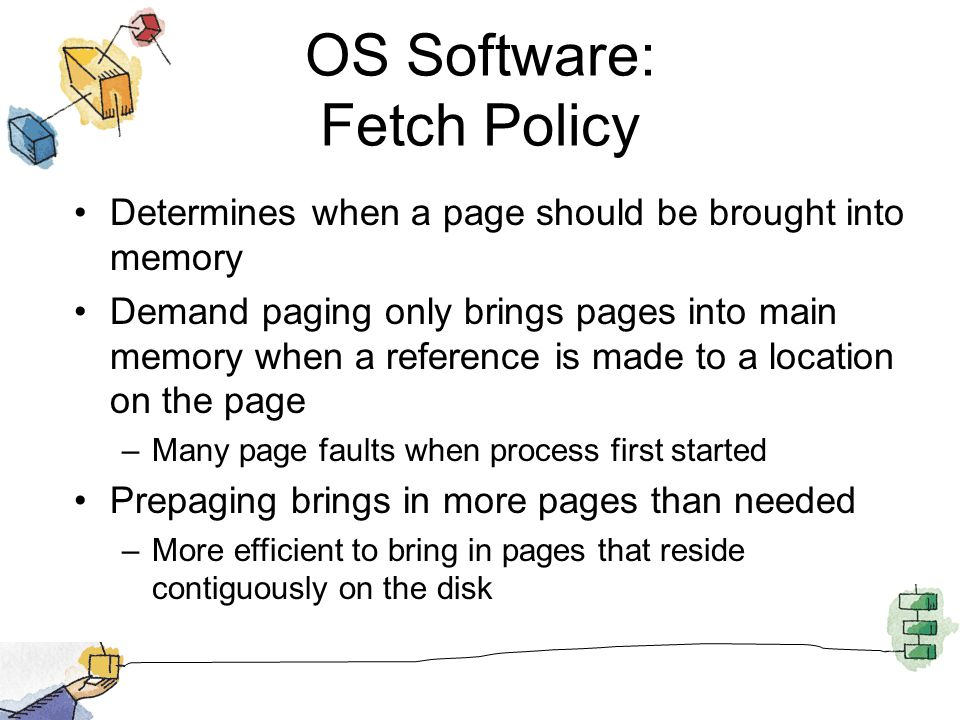 OS Software: Fetch Policy