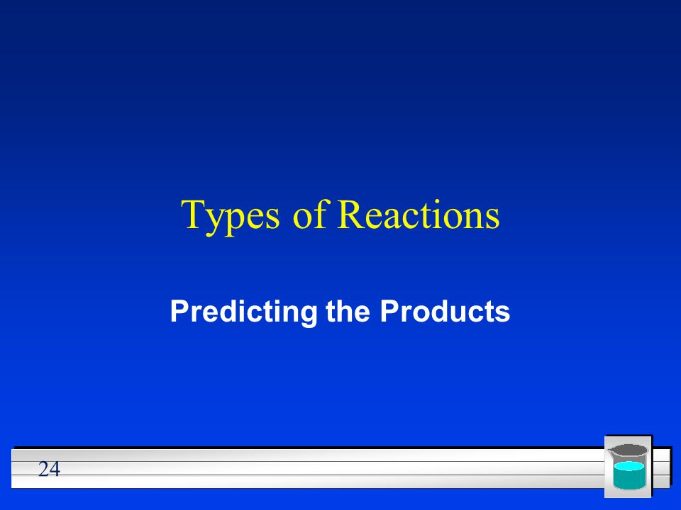 Predicting the Products