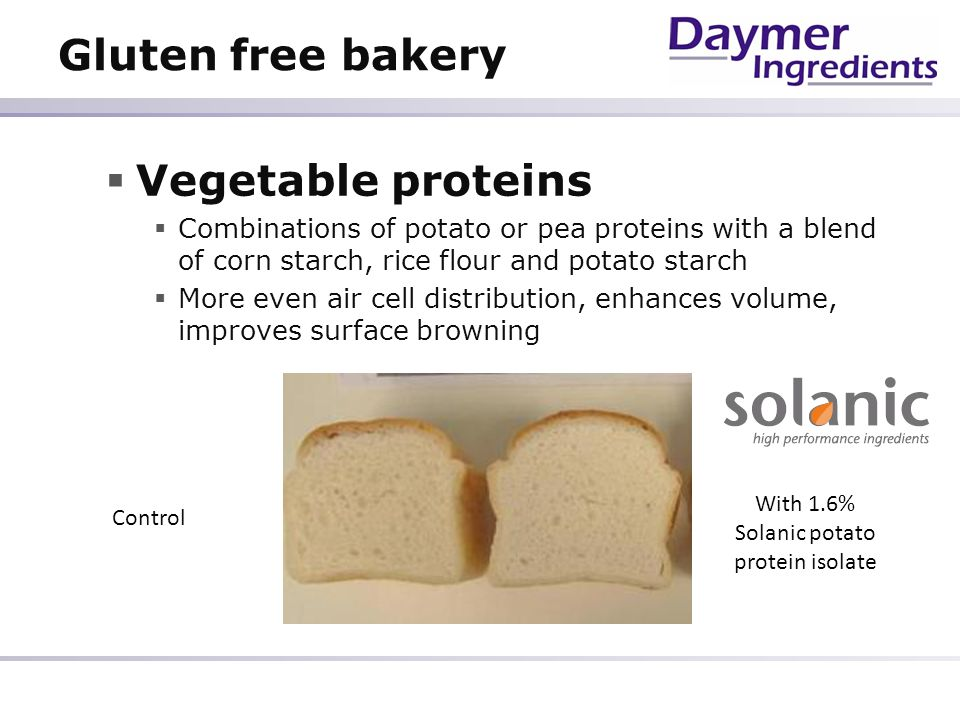 With 1.6% Solanic potato protein isolate
