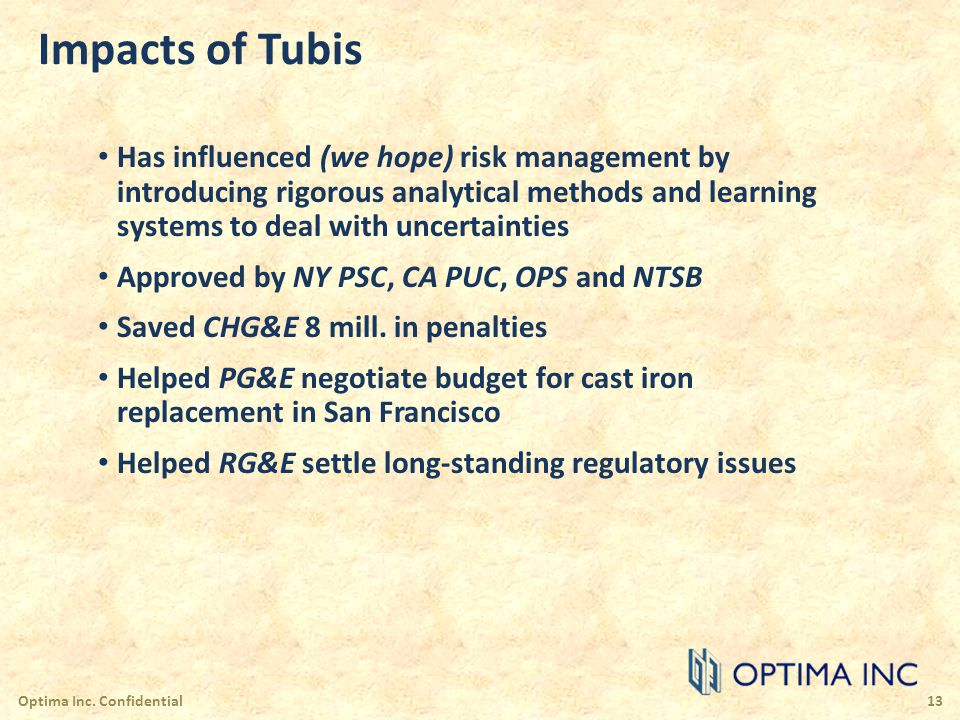 Impacts of Tubis