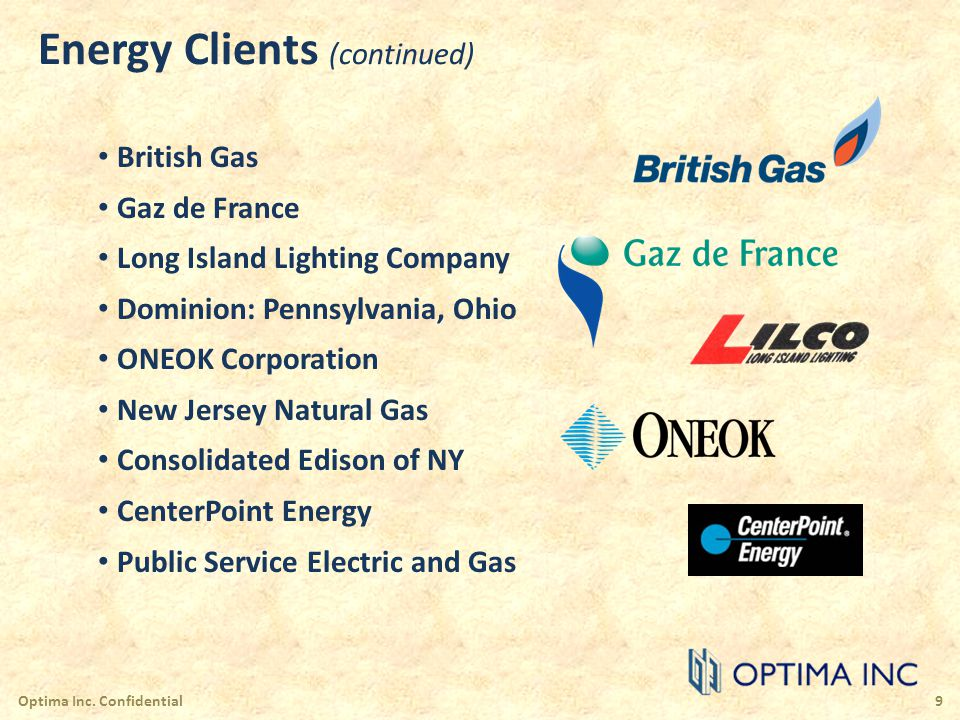Energy Clients (continued)