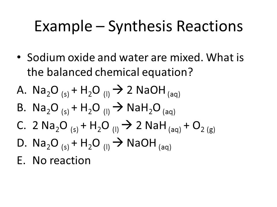 Chemical Equation Synthesis Tessshebaylo – Synthesis Reactions Worksheet