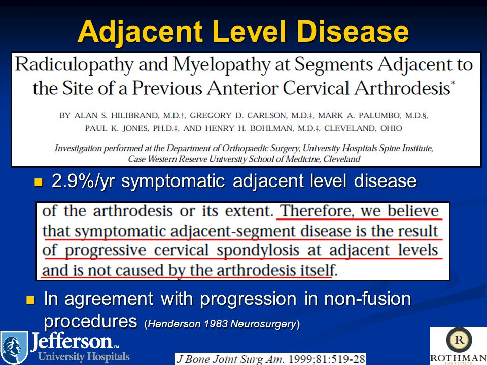 Adjacent Level Disease