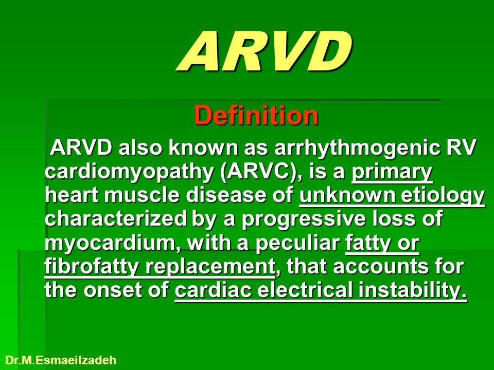 ARVD Definition.