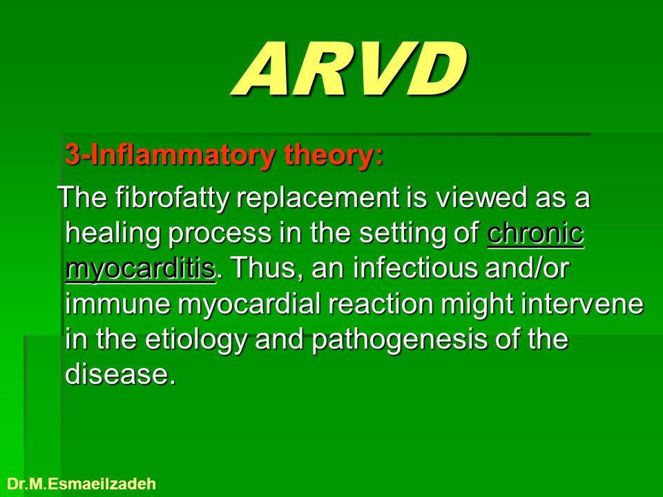 ARVD 3-Inflammatory theory: