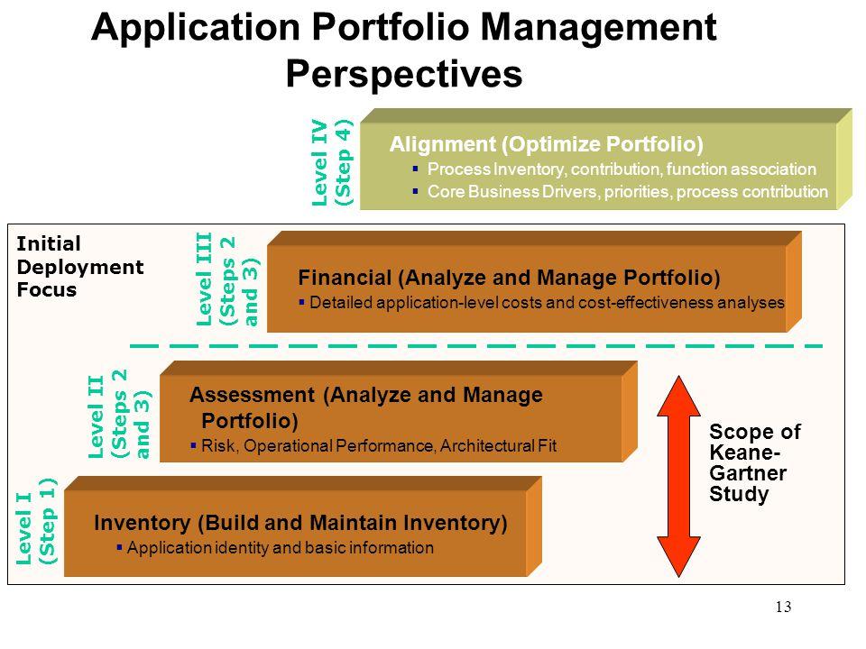 Application Portfolio Management Perspectives