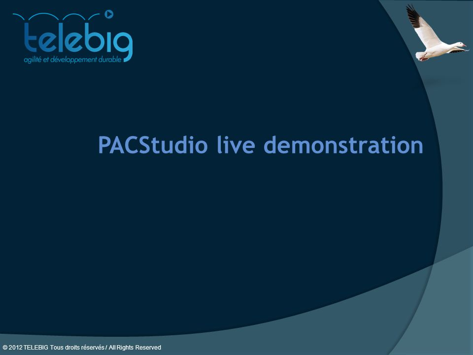 PACStudio live demonstration