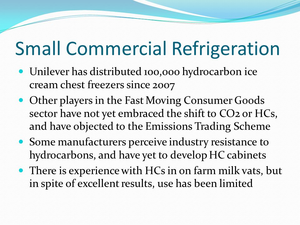 Small Commercial Refrigeration