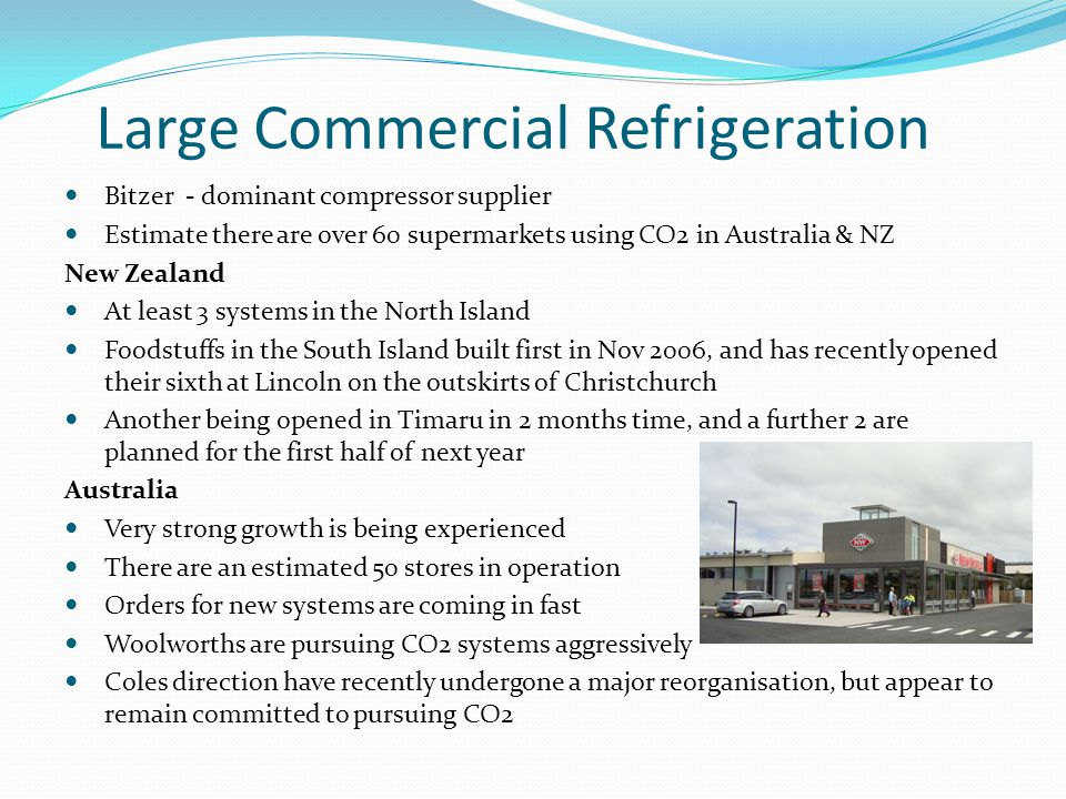 Large Commercial Refrigeration