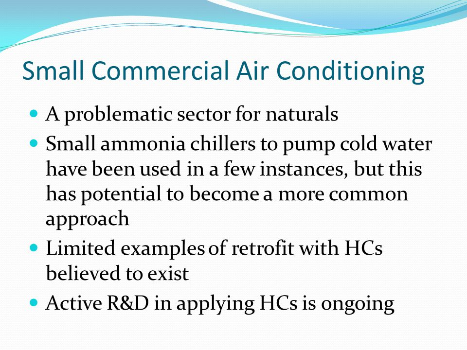 Small Commercial Air Conditioning