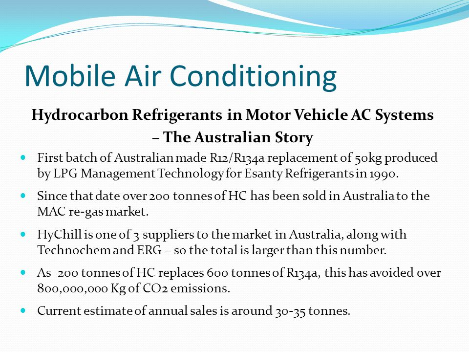 Mobile Air Conditioning