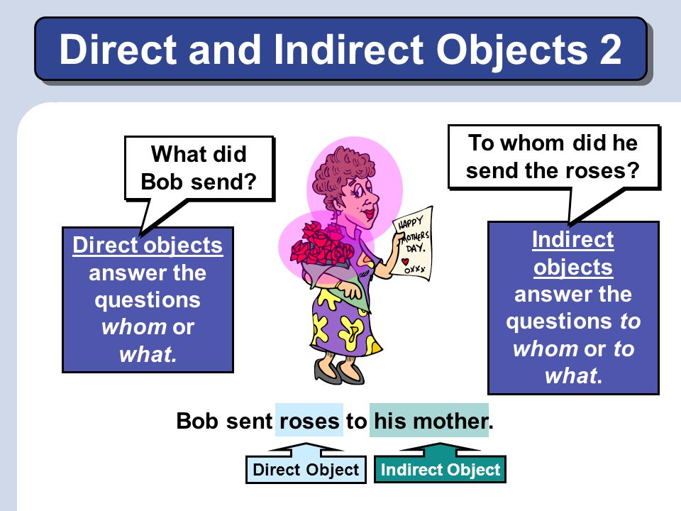 Direct and Indirect Objects 2
