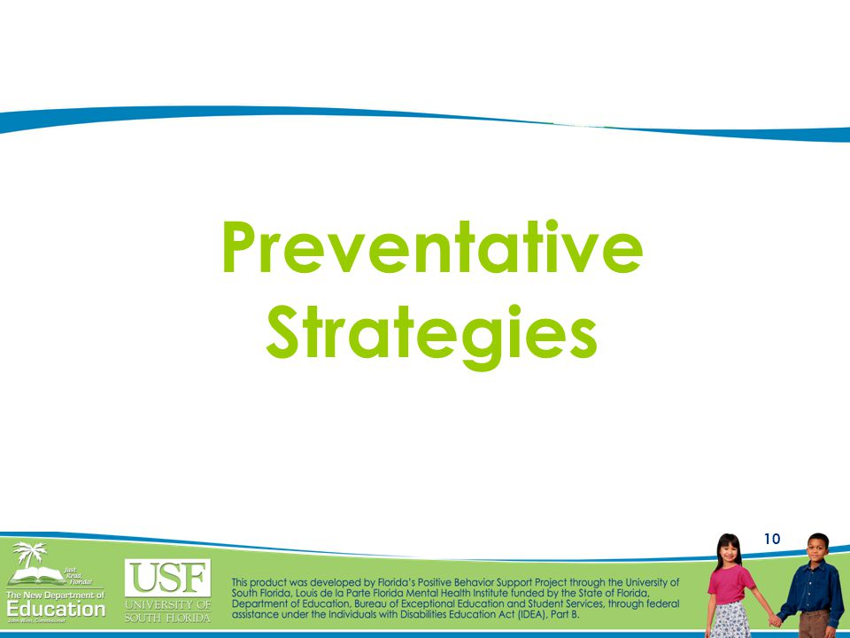 Preventative Strategies