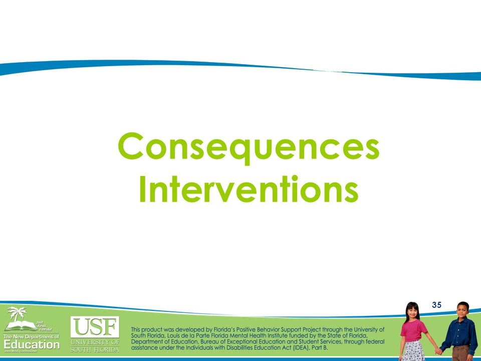 Consequences Interventions