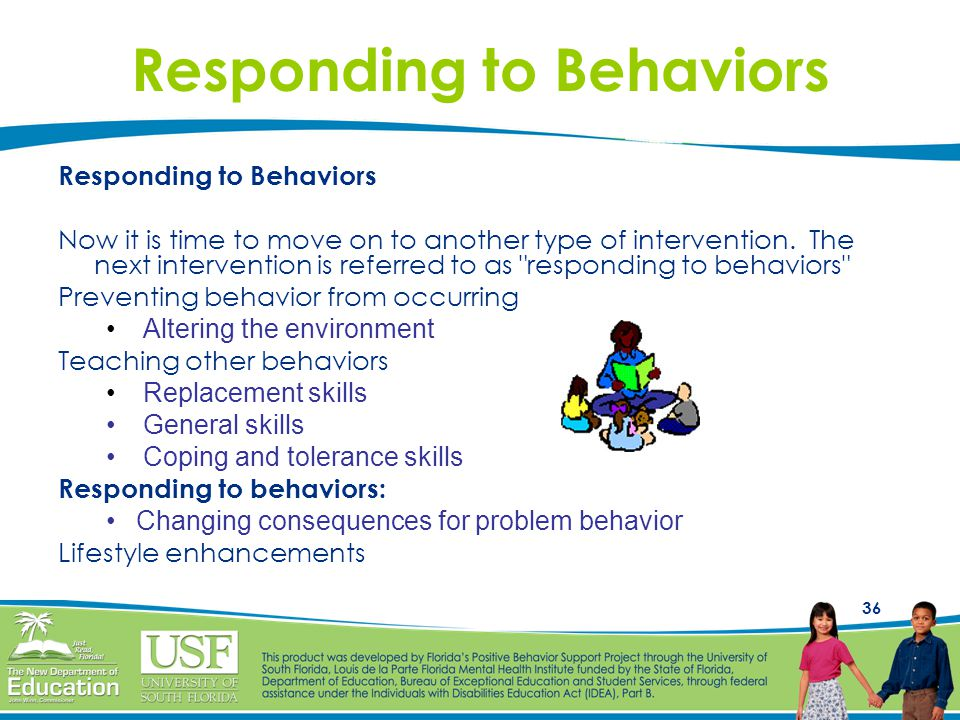 Responding to Behaviors