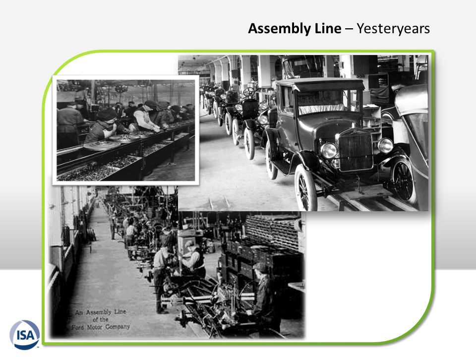 Assembly Line – Yesteryears