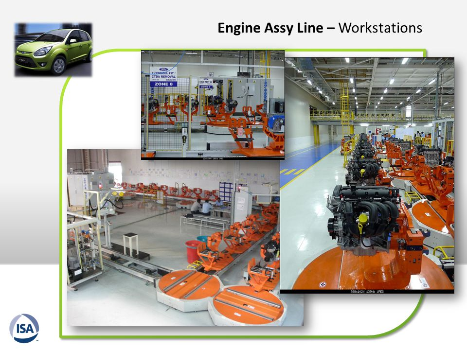 Engine Assy Line – Workstations