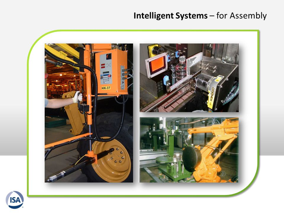 Intelligent Systems – for Assembly