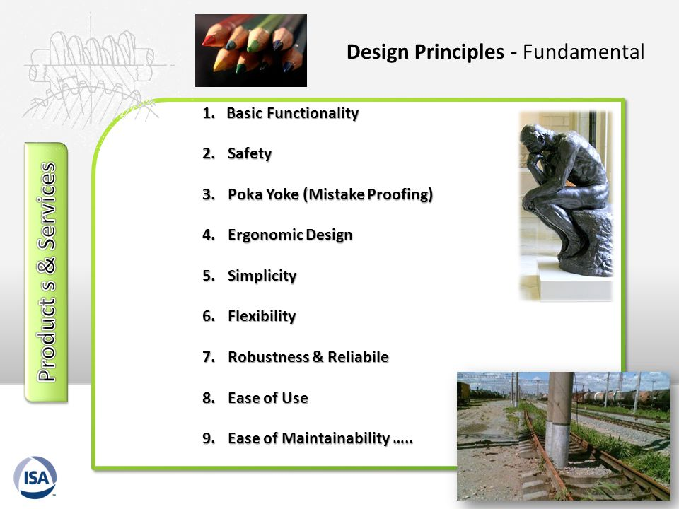 Product s & Services Design Principles - Fundamental