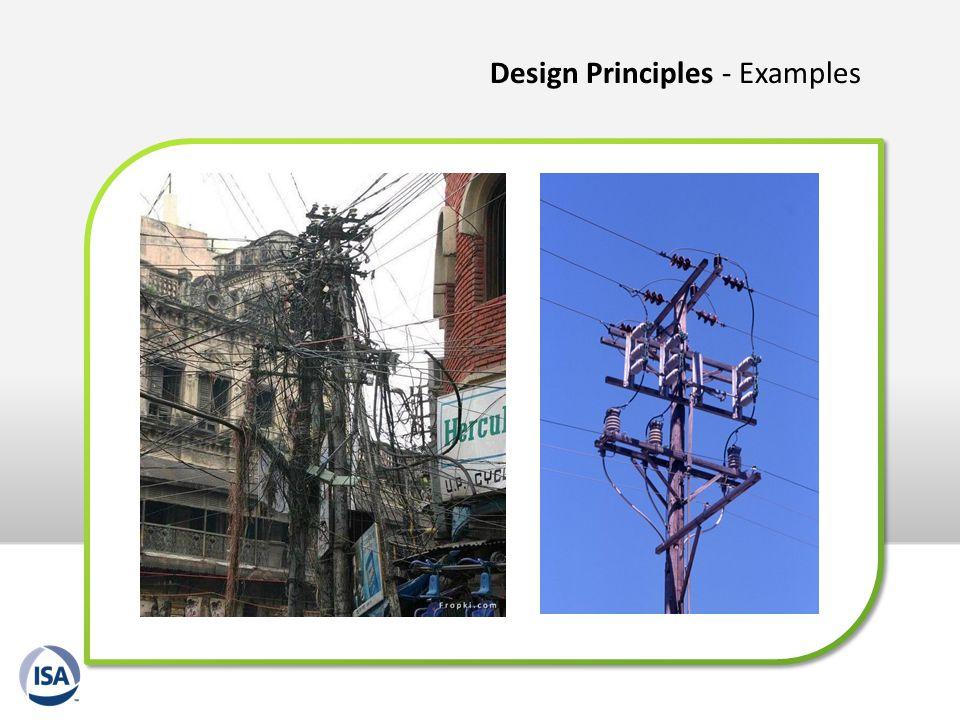 Design Principles - Examples