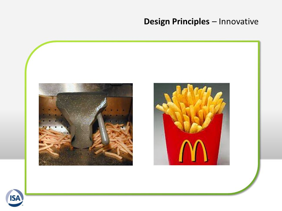 Design Principles – Innovative