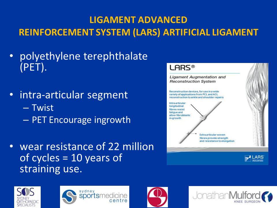 LIGAMENT ADVANCED REINFORCEMENT SYSTEM (LARS) ARTIFICIAL LIGAMENT