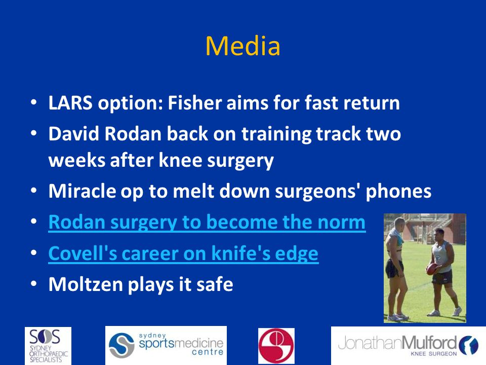 Media LARS option: Fisher aims for fast return