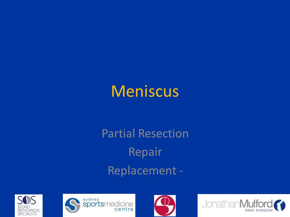 Partial Resection Repair Replacement -