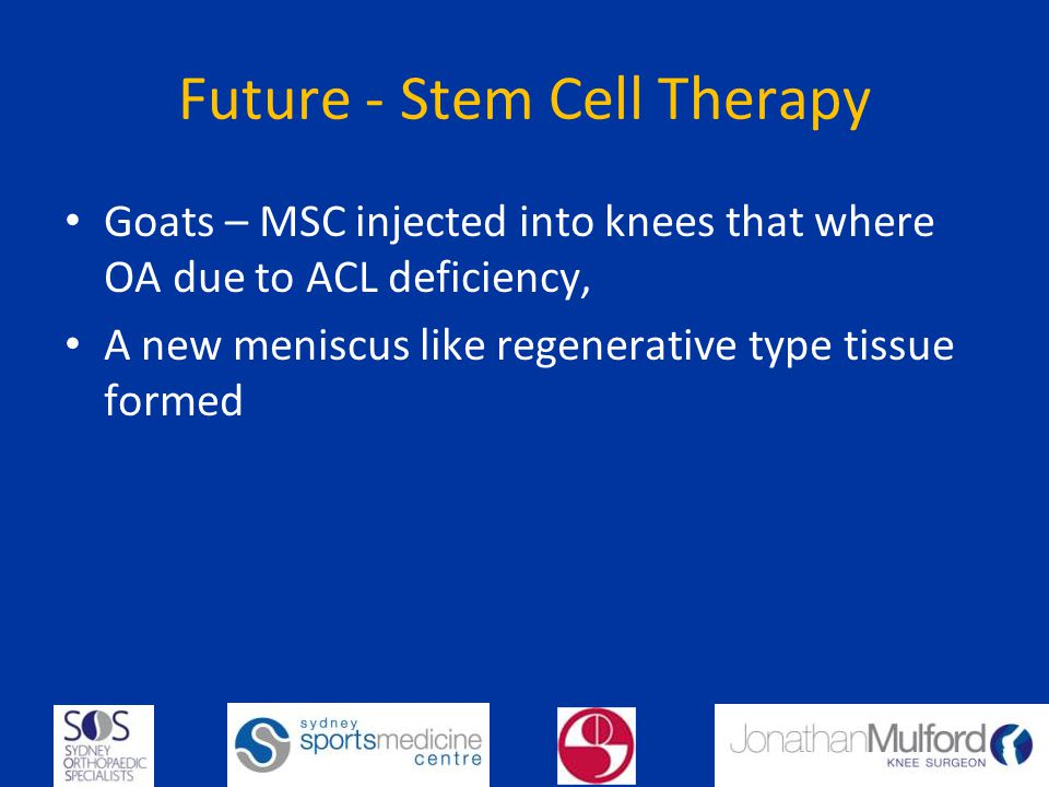 Future - Stem Cell Therapy