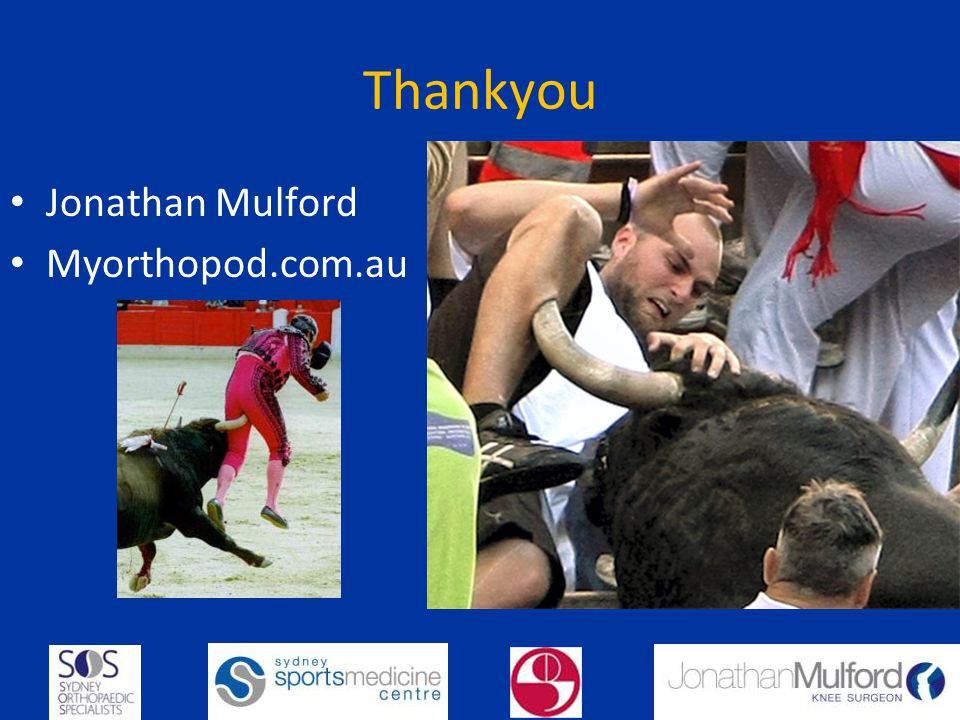 Thankyou Jonathan Mulford Myorthopod.com.au