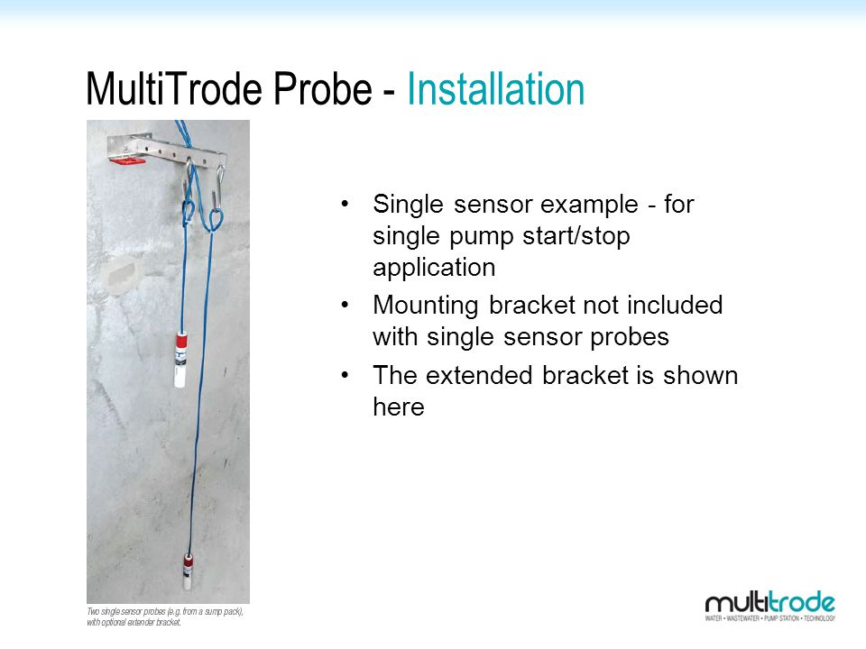 MultiTrode Probe - Installation