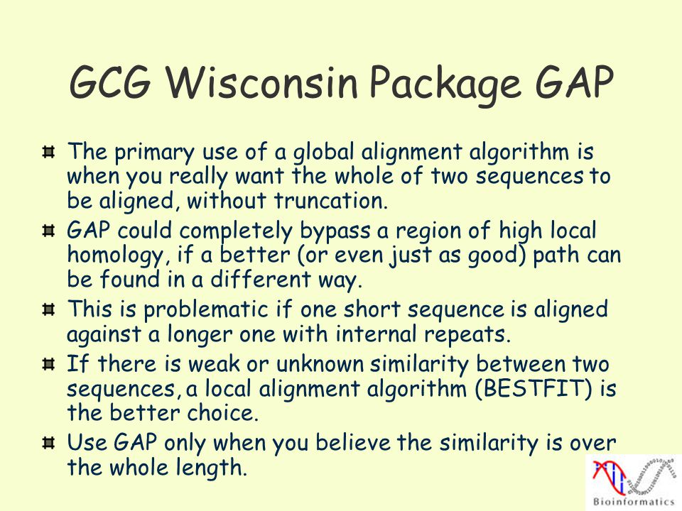 GCG Wisconsin Package GAP