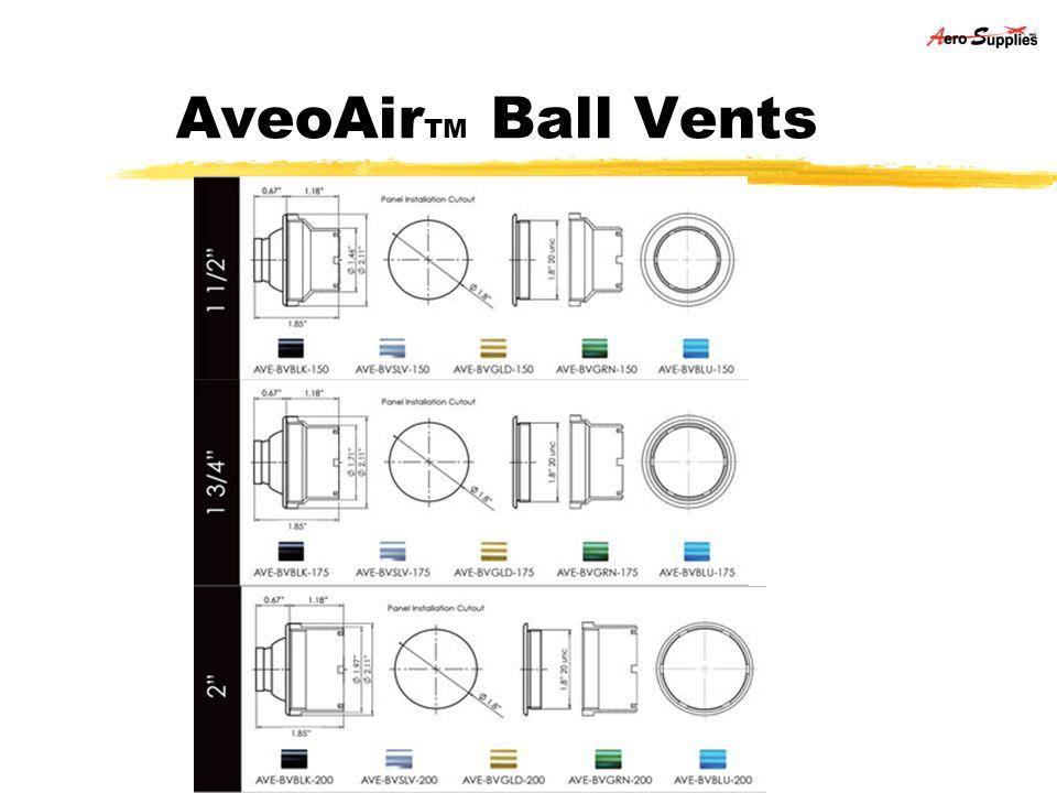 AveoAirTM Ball Vents