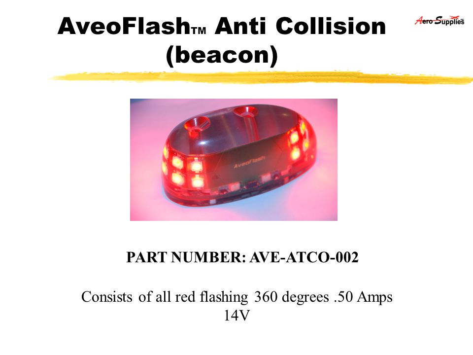 AveoFlashTM Anti Collision (beacon)