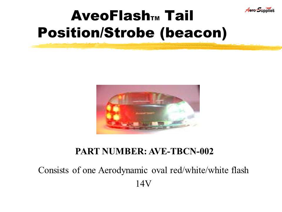 AveoFlashTM Tail Position/Strobe (beacon)