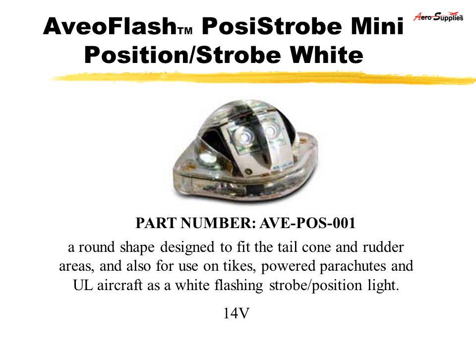 AveoFlashTM PosiStrobe Mini Position/Strobe White