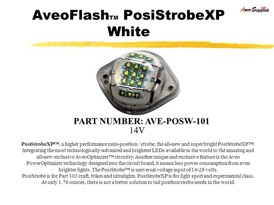 AveoFlashTM PosiStrobeXP White