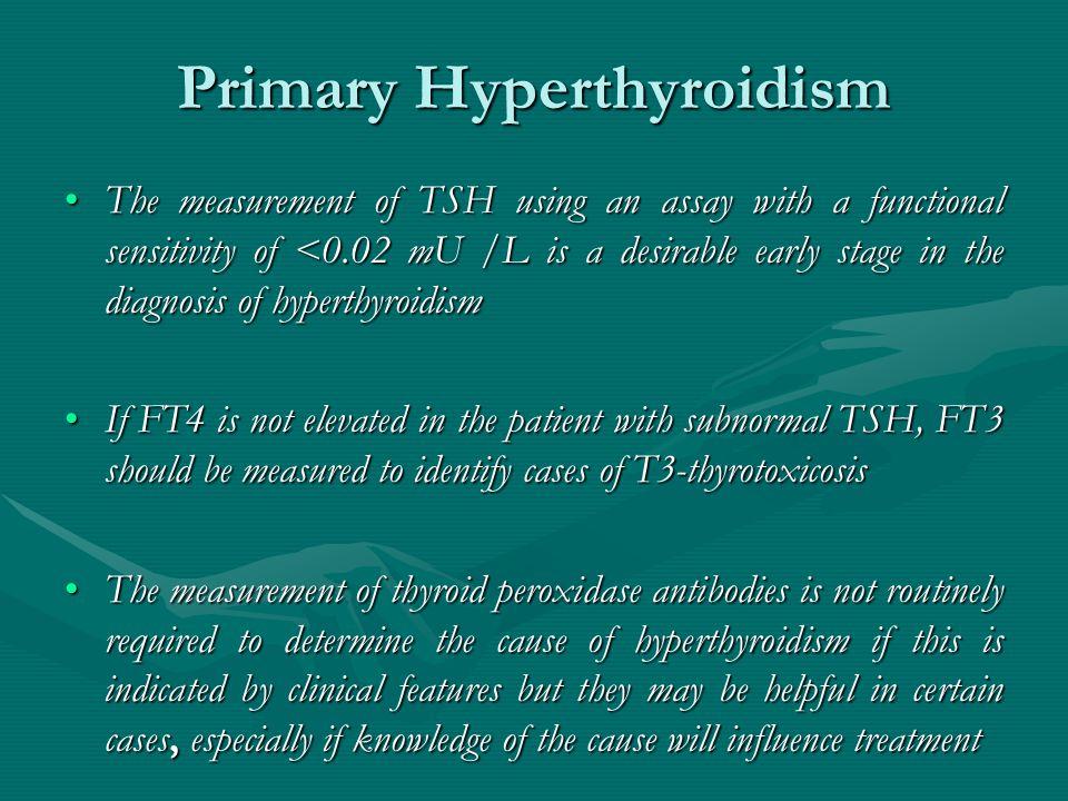 Primary Hyperthyroidism