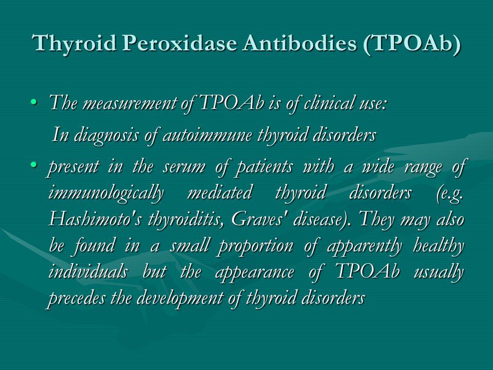 Thyroid Peroxidase Antibodies (TPOAb)