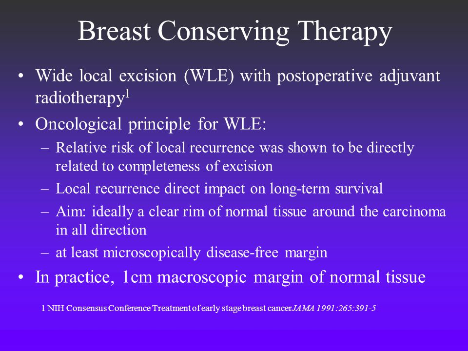 Breast Conserving Therapy