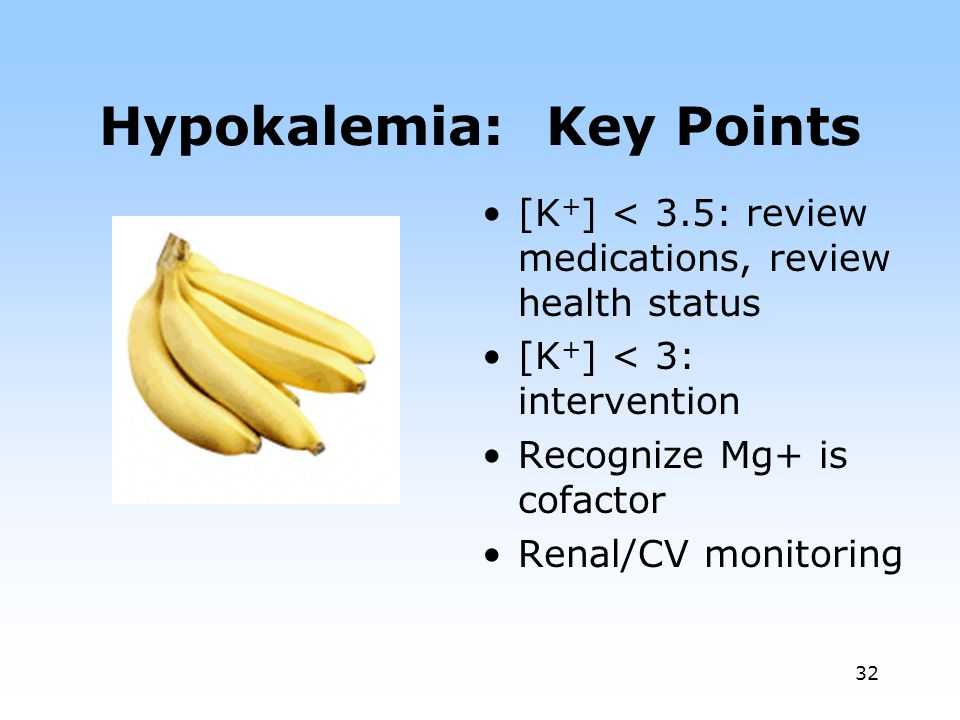 Hypokalemia: Key Points