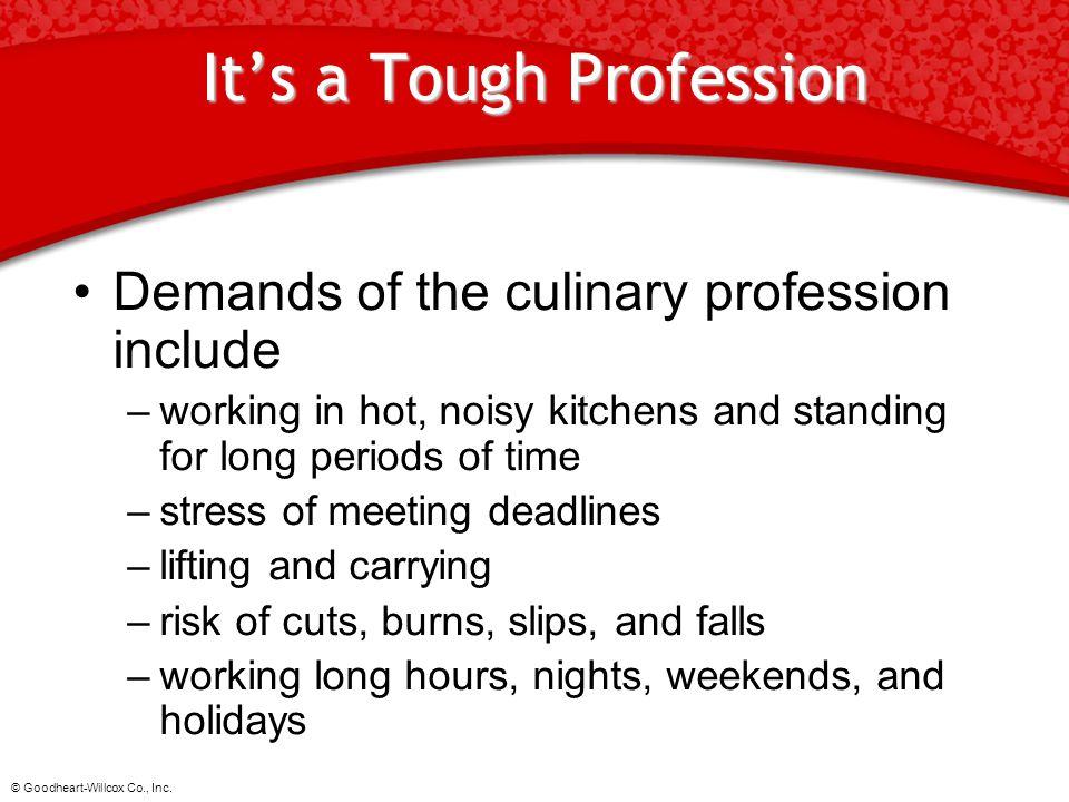 It's a Tough Profession
