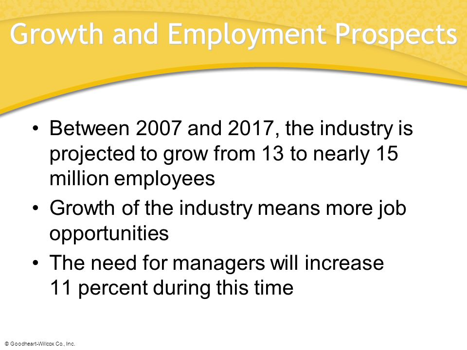 Growth and Employment Prospects