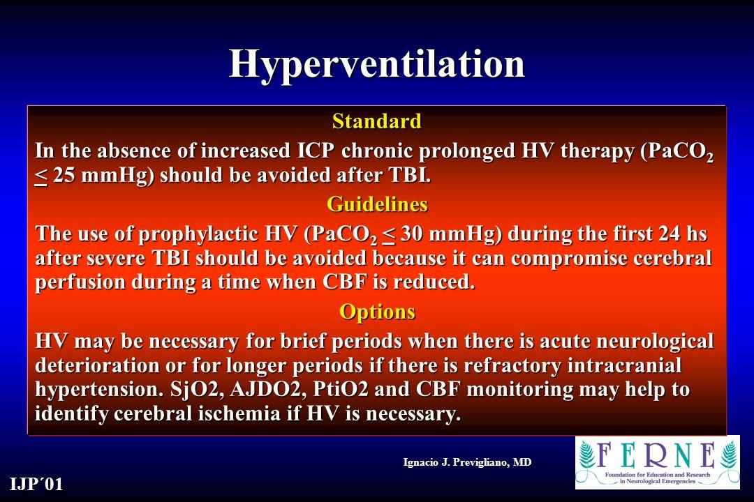 Hyperventilation Standard